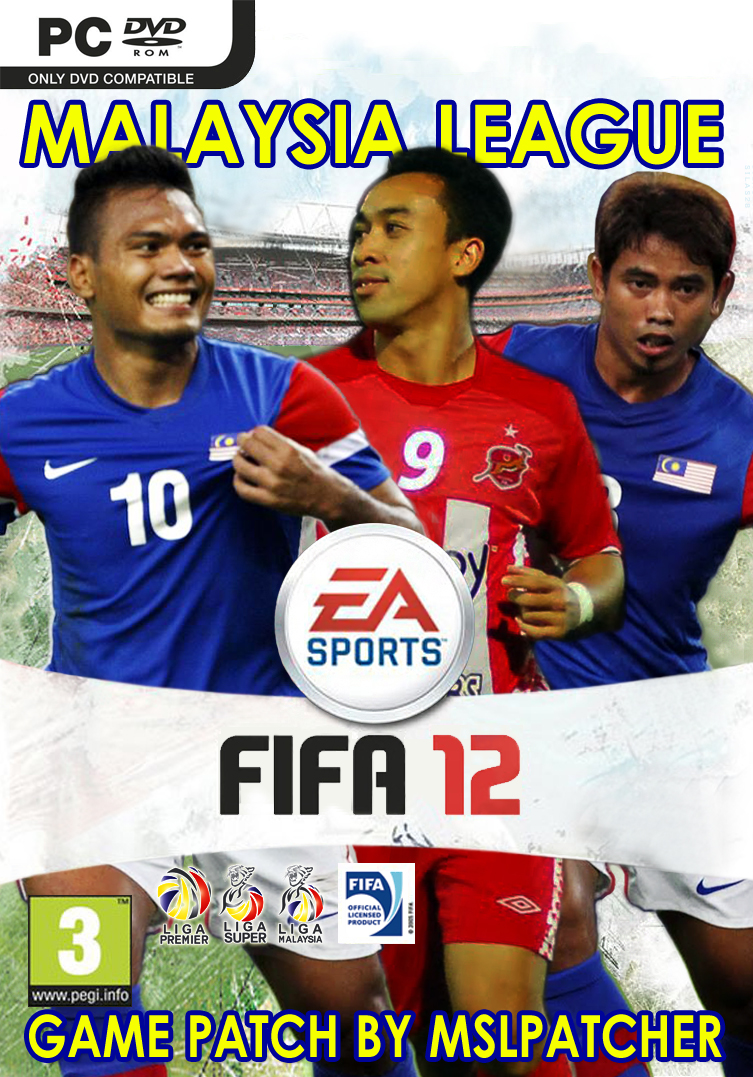 MALAYSIA LEAGUE patch for FIFA12 PC